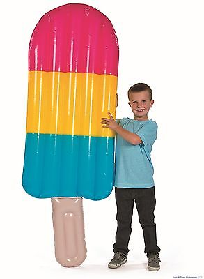 7 FOOT GIANT - Ice Pop Inflatable Popsicle Stick - Birthday Party Pool Toy Fun