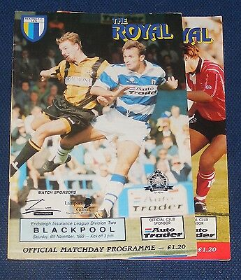 Reading Home Programmes 1993-1994