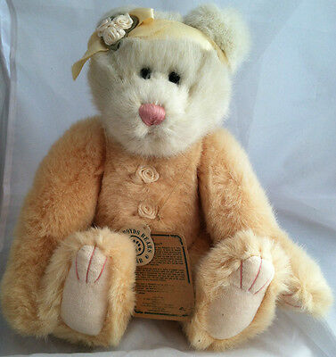 """Boyds Bears Bearwear Investment Collectibles """"Gwendina"""" BNWT Poseable Arms/Feet"""