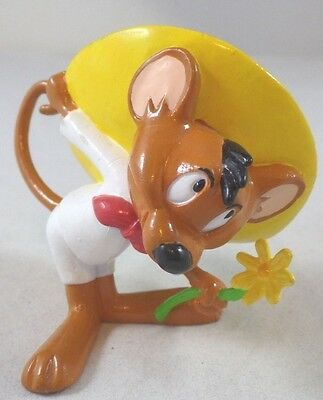 WB PVC Speedy Gonzales w/Daisy Looney Tunes Warner Brothers Lot Set Topper '97