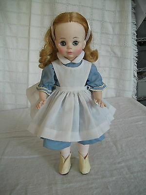 "Madame Alexander Alice doll 13 1/2"" 1960's"