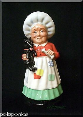 ROYAL DOULTON Old Mother Hubbard Figurine DNR-3 - Limited Edition 320/1500