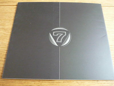 CATERHAM 7 ( LOTUS )  BROCHURE Jm