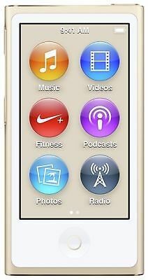 Apple iPod Nano 7th Generation 16GB - Gold. From the Official Argos Shop on ebay