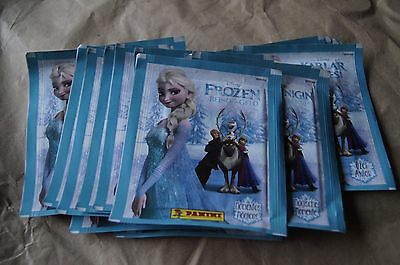 Italy Panini Disney Frozen Enchanted Moments Sticker lot of 50 pack new