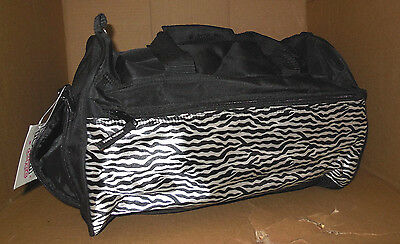 New w/ Tag Horizon 3200 ZDance Gear Duffel Bag Zebra Black White