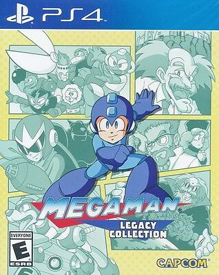 Mega Man Legacy Collection - PS4 Game - New & Sealed