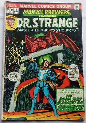 Marvel Premiere Featuring Dr. Strange Mystic Arts Vol. 1 No. 8, May 1973 - 20¢