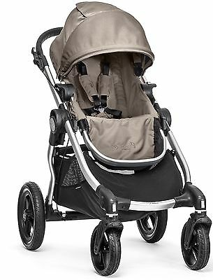 Baby Jogger City Select All Terrain Single Stroller Silver Frame Quartz New 2016