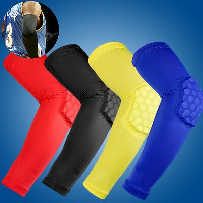 Arm Sleeve Elbow Support Honeycomb Pad Crashproof Cycling Basketball Accessories