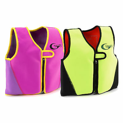 Kids Childrens SWIM Vest Jacket Swimming Buoyancy Float Aid - LEARN TO SWIM