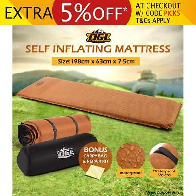Air Bed Self Inflating Mattress Foldable Joinable Inflatable Camping Hiking Mat