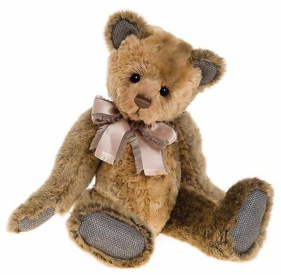 New **COLLECTABLE HANDMADE FULLY JOINTED CHARLIE BEAR ~ AGNES** 39cm