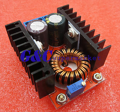 DC-DC Converter Boost Power Supply Module 10-32V Step up to 60-97V 100W Voltage