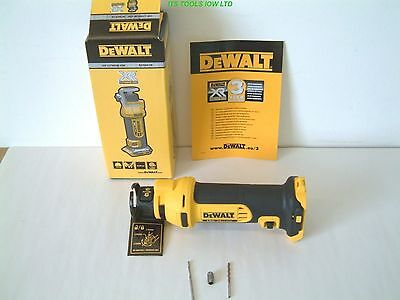 DeWALT DCS551N 18V XR ROTARY DRYWALL CUT-OUT TOOL NEW
