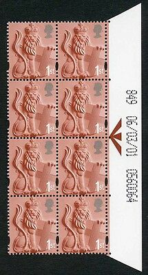 E-DONP1stA 1st Crowned Lion 2B Warrant 06/03/01 Phos D Cyl 1/1 Right Side