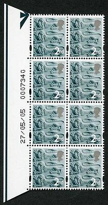 E-DONP2ndC England DLR 2nd Warrant Block of 8 dated 27/05/05