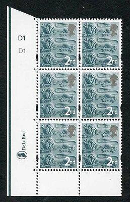2nd Three Lions DLR One 4.5mm Centre Band Cyl D1 D1 No Dot PD1 Bright Paper
