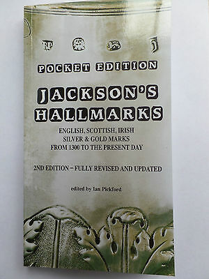 Jacksons Hallmarks Silver & Gold 2nd Edition Fully Revised 2016 Book NEW