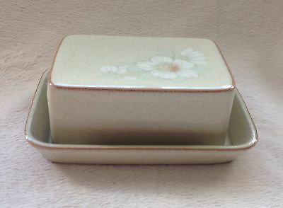 Denby Daybreak Butter Dish Excellent Condition First Quality