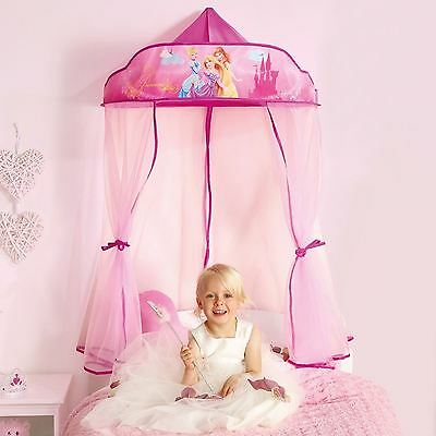 Disney Princess Hanging Bed Canopy New Girls Bedroom Official
