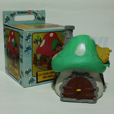 PUFFO PUFFI SMURF SMURFS 4.0001 40001 House Casa Grande Green in Old Box