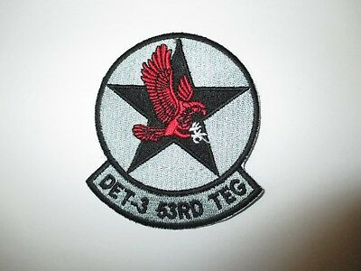 b8513 US Air Force Groom Black Ops Det 3 53rd Teg Detachment Fighter