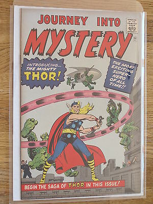 JOURNEY INTO MYSTERY #  83  (1st THOR)  US MARVEL 1966 GRR KIRBY VFN-NM