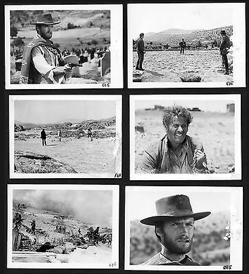 THE GOOD THE BAD THE UGLY original 177 photos stills 1966 Sergio Leone Eastwood