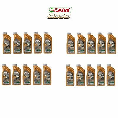 20 Liters 10w60 Synthetic Motor Oil BMW M3 M5 M6 Castrol Edge Professional TWS