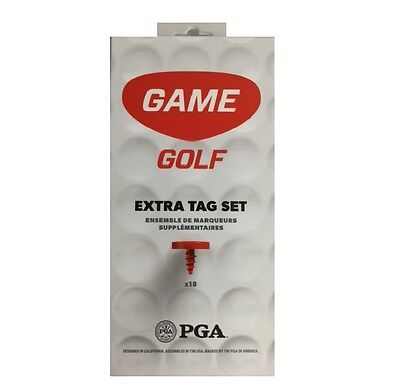 Game Golf Extra Tag Set - GPS Tracking Device Analyse Shots 2017 LIVE Classic