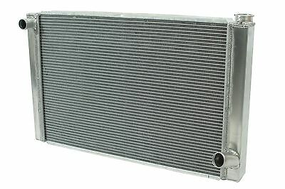 "Chevy Aluminum Performance Racing Radiator 19""x31"" 2 Row Single Pass"