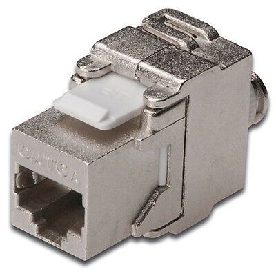 Cat 6A Keystone Jack Toolless Idc Module - Shielded