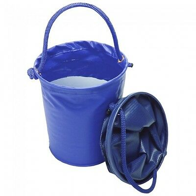 Tough-1 Collapsible Water Bucket  --ROYAL BLUE  --NWT