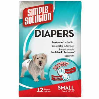 Simple Solution Diapers S 12 Diapers