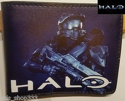 HALO Master Chief UNSC ! bi fold wallet  US Seller awesome wallet and great gift