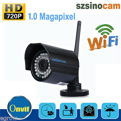 HD 720P Wireless WIFI CCTV Vigilancia WLAN 36IR Cam IP Cámara Inalambrica EU
