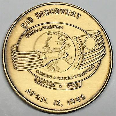 N096      NASA  SPACE  SHUTTLE   COIN DISCOVERY MEDAL STS-96
