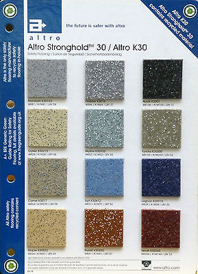 ALTRO STRONGHOLD 30 Anti Slip Safety Flooring - CLEARANCE END OF ROLLS! 70% OFF!