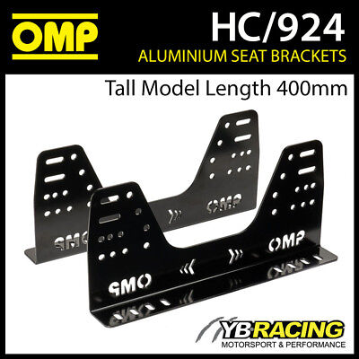 NEW! HC/924 OMP ALUMINIUM RACE SEAT SIDE MOUNT BRACKETS ULTRA STRONG in 6mm FIA