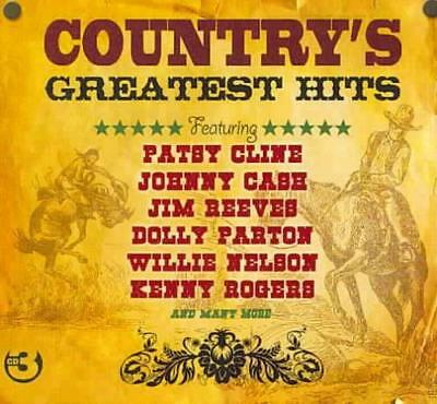 Various Artists - Country's Greatest Hits [Not Now 3Cd] New Cd