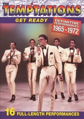 Temptations - Get Ready: Definitive Performances 1965-1972 New Region 1 Dvd