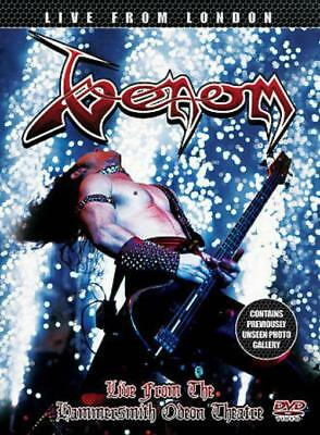 Venom - Live In London At The Hammersmith Odeon New Region 2 Dvd