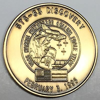 N051-C       NASA  SPACE  SHUTTLE   COIN STS-51-C MEDAL DISCOVERY