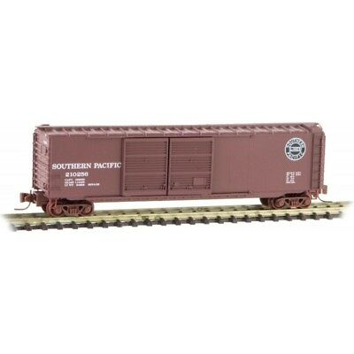 Z Scale - MICRO-TRAINS LINE 506 00 322 SOUTHERN PACIFIC 50' Double Door Box Car