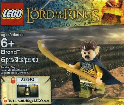 Lego Lord of the Rings Elrond 5000202 Polybag BNIP