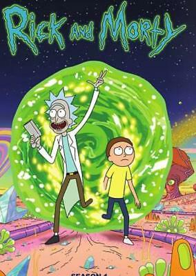 Rick And Morty: The Complete First Season New Region 1 Dvd