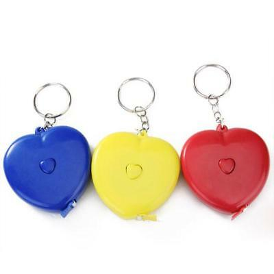 1.5m portable heart-shaped Tape Measure Measuring Ruler