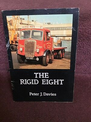 old Wagon Booklet The Rigid Eight - Peter J Davies