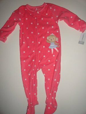 3a70f895581d CARTER S BABY GIRLS  One-Piece Fair Isle Fleece Footed Pajamas